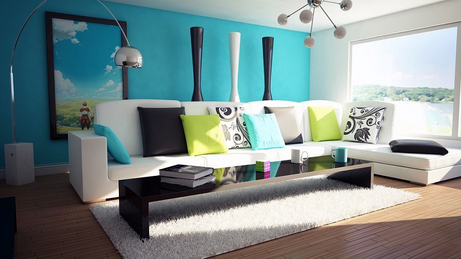 How To Choose A Paint Color Simple With Living Room Interior Design Ideas Image